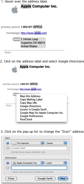 Google Maps Plugin Instructions