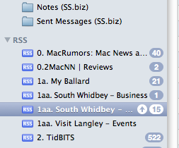 List of RSS Feeds