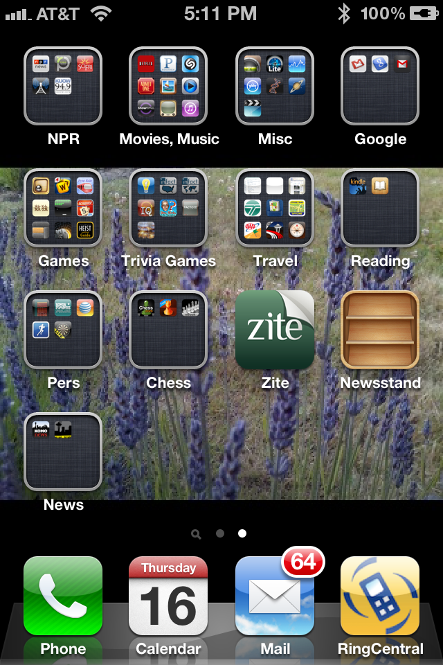 How to organize iphone and ipad apps into folders sound for Cool way to arrange iphone apps
