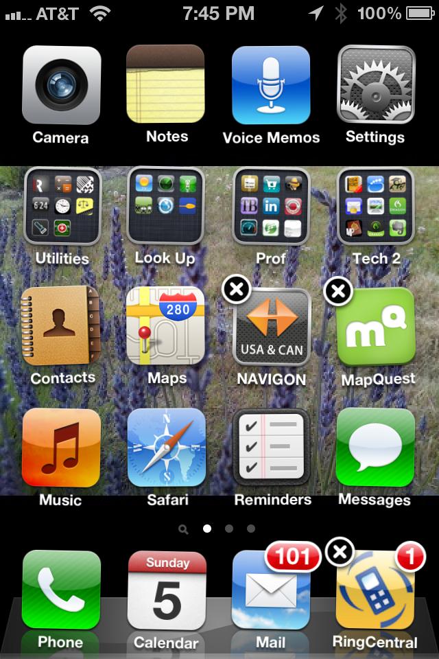Remove iOS App