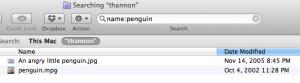 Search by filename