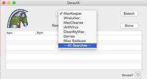 DetectX screenshot