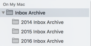 Inbox Archive Mailboxes