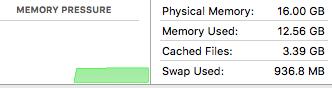 Memory Pressure typical